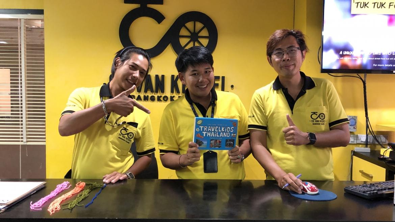 Ga toch fietsen!             Verken Bangkok met de fietstoers van Co van Kessel