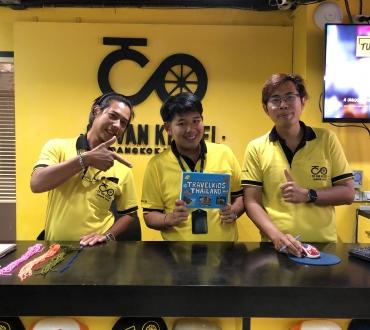 Grab a bike! Explore Bangkok with the bike tours of Co van Kessel
